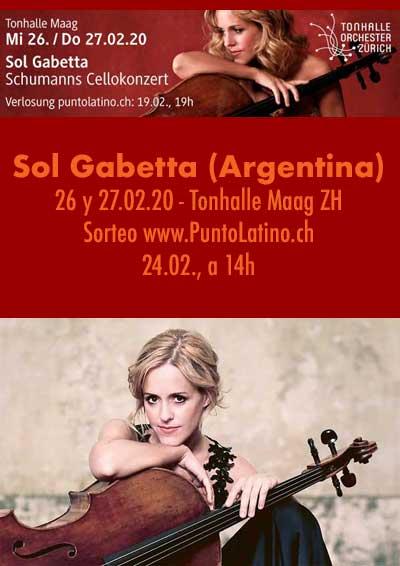 26.–27.02.20 Sol Gabetta (Argentina), ZH