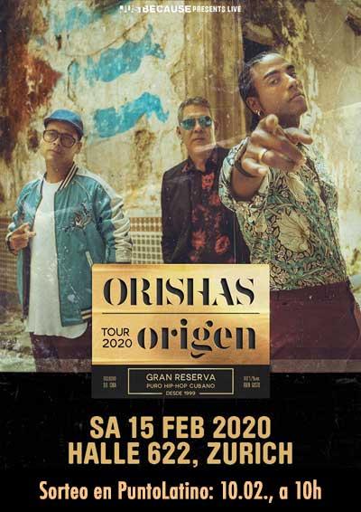15.02.20 Orishas (Cuba), ZH