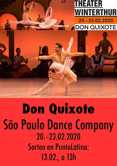20.–23.02.20. Ballet Don Quixote