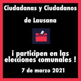 2021 Elecciones Lausana