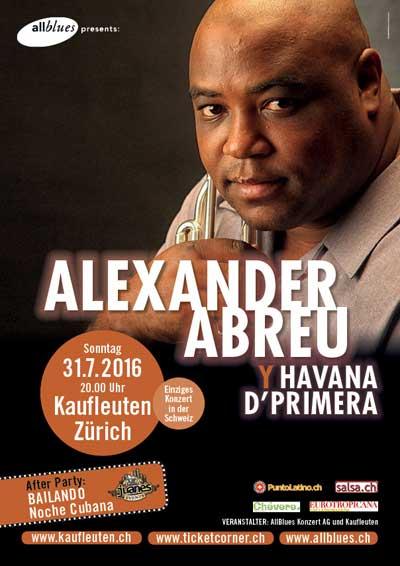 31.07.16. Alexander Abreu y Havana D'Primera (Cuba)