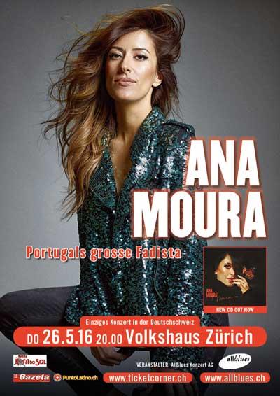 26.05.16., Ana Moura, Vokshaus ZH