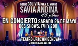 26.05.18. Savia Andina (Bolivia), GE