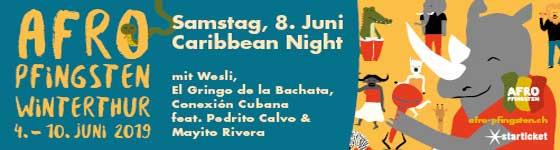 04.06.–10.06.19. Afro-Pfingsten Festival