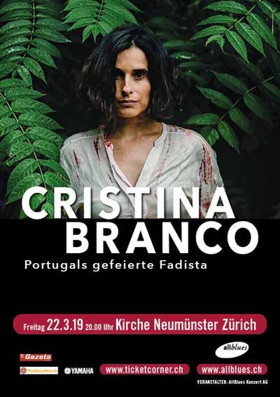 22.03.19. Cristina Branco, ZH