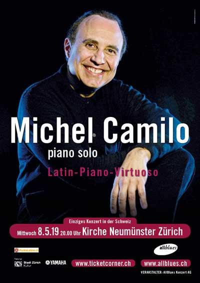 08.05.19. Michel Camilo (Rep. Dom.) ZH