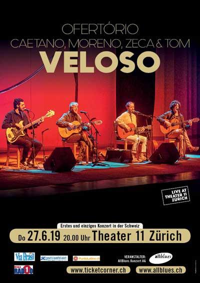 27.06.19. Caetano Veloso, Theater 11, ZURICH