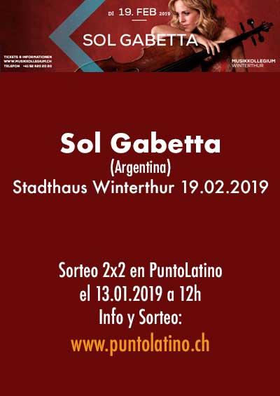 19.02.19. Sol Gabetta (ARG), Stadthaus Winterthur
