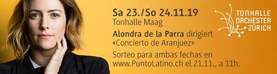 23.–24.11.19. Alondra de la Parra (Méx), ZH