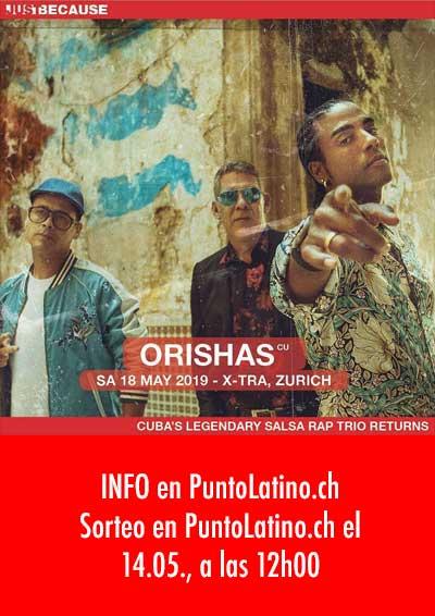 18.05.2019 Orishas (Cuba), ZH