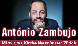 29.01.20. António Zambujo (PORT)