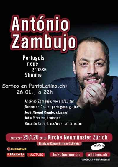 29.01. António Zambujo