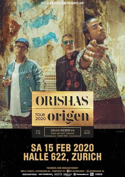 15.02.20. Orishas (Cuba)