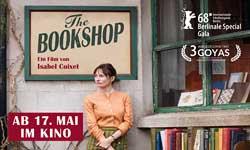 CINE La Libreria (The Bookschop) ab 17.05.18. CH-D