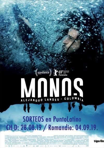 Ab 28.08.19. MONOS (Colombia)