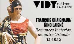 12.–15.12.18. Théâtre Vidy Lausanne